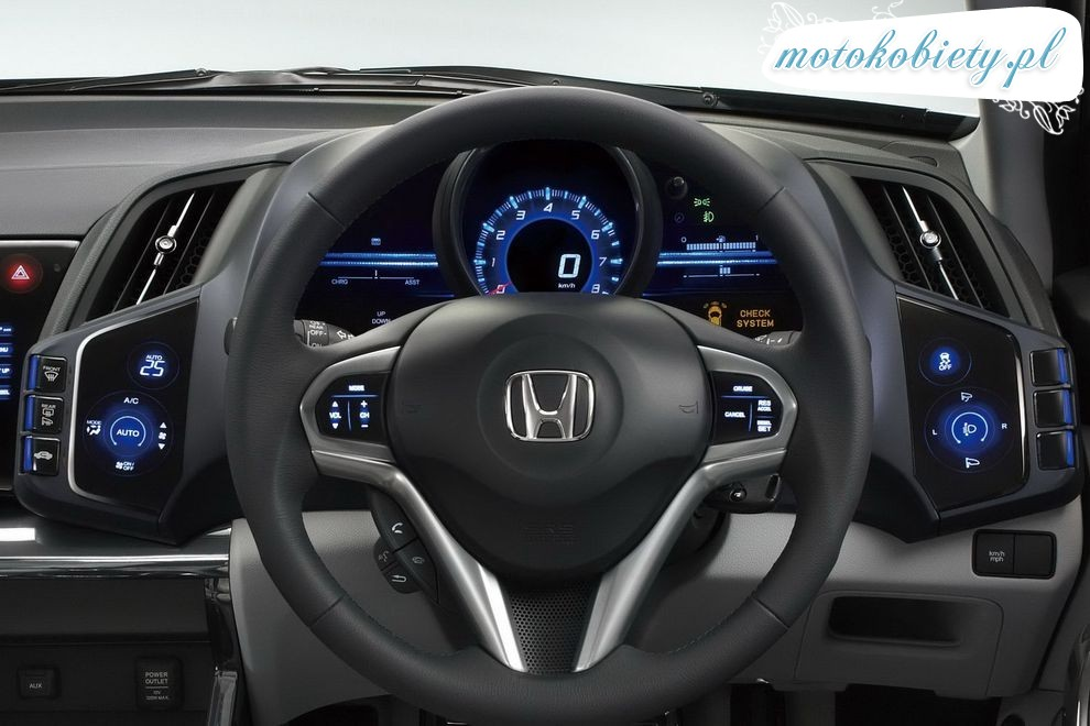 Nowa Honda CR-Z 2009