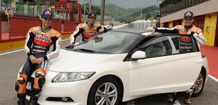 Stoner, Pedrosa, Dovisiono i Honda CR-Z