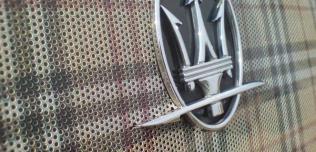 Maserati Quattroporte od Burberry