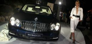Maybach wysadzany diamentami