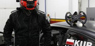 Kubica na testach DTM