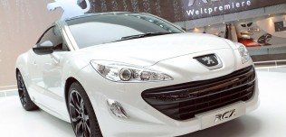 Nowy Peugeot RCZ Coupe - Frankfurt Motor Show 2009