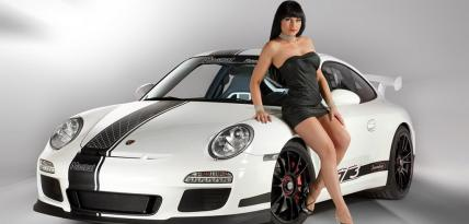 Porsche 911 GT3 Snowmobile