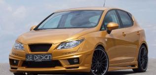 Seat Ibiza 6J Gold od JE Design