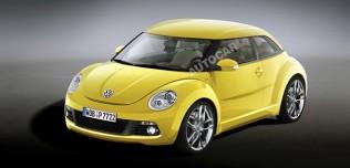 Nowy Volkswagen New Beetle II - wizualizacja
