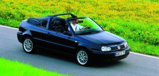 Volkswagen Golf Cabrio - starszej generacji