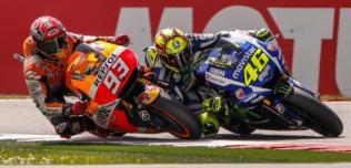 Valentino Rossi kontra Marc Marquez