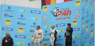 Karolina Lampel-Czapka na podium