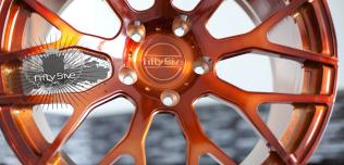 Fifty 5ive Sunset finish
