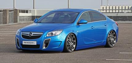 Opel Insignia OPC MR Car Desing